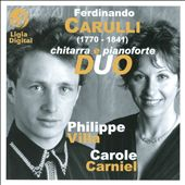 Ferdinando Carulli: Chitarra e Pianoforte Duo