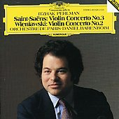 Saint-Sa&#235;ns: Violin Concerto no 3;  Wieniawski / Perlman