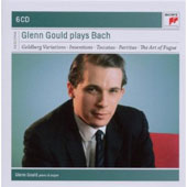 Glenn Gould Plays Bach - Goldberg Variation, Inventions, Toccatas, Partitas et al. [6 CDs]