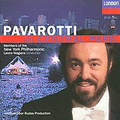 Pavarotti in Central Park / Magiera, New York Philharmonic