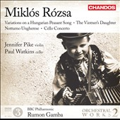 Mikl&oacute;s R&oacute;zsa: Orchestral Works 2 / Gamba