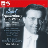 Bach: Brandenburg Concertos / Peter Schreier - CPE Bach CO