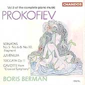 Prokofiev: Complete Piano Music Vol 9 / Boris Berman