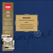Mozart: The Late Symphonies / Otto Klemperer [Limited Ed.]
