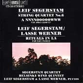 Segerstam: String Quartet no 6, etc / Segerstam Quartet