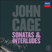 John Cage: Sonatas & Interludes for prepared piano / John Tilbury, piano