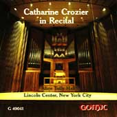 Catherine Crozier in Recital - Bach, Hindemith, et al