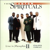 The Canton Spirituals: Live in Memphis, Vol. 2 [CD/DVD]