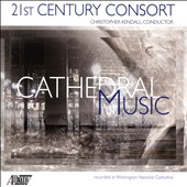 Cathedral Music - James Primosch: Sacred Songs; Stephen Albert: Concerto for Four Quartets; Christopher Patton: Out of Darkness / Mary Mackenzie, soprano; Lucie Shelley, treble;