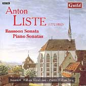Liste: Bassoon Sonata, Piano Sonatas / Waterhouse, Fong