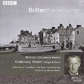 Britten the performer 1 - Brahms, Tchaikovsky, Rossini