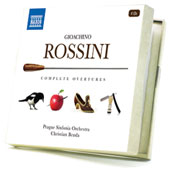 Rossini: Complete Overtures / Christian Benda, Prague Sinfonia Orchestra [4 CDs]