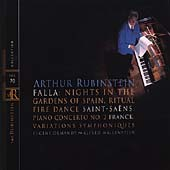Rubinstein Collection Vol 70 - Falla, Saint-Saëns, et al