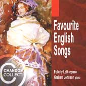 Favourite English Songs / Felicity Lott, Graham Johnson
