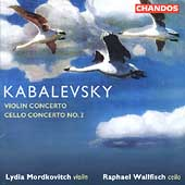Kabalevsky: Violin & Cello Concertos /Mordkovitch, Wallfisch