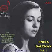 Legendary Treasures - Pnina Salzman Vol 1
