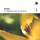 Haydn: Symphonies no 44, 45, 49 / Koopman, Amsterdam Baroque