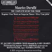 Duruflé: The Complete Music for Choir / Graden, Mattei, etc