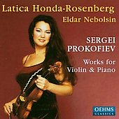 Prokofiev: Works for Violin and Piano / Nebolsin, et al