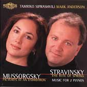 Mussorgsky, Stravinsky: Music for 2 Pianos