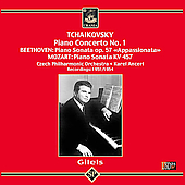 Tchaikovsky: Piano Concerto no 1;  Beethoven, etc / Gilels