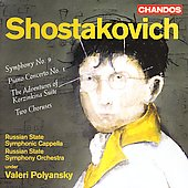 Shostakovich: Symphony no 9, etc / Polyansky, et al