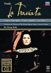 Verdi: La Traviata / Gheorghiu, Solti/Orch. & Chorus Of The Royal Opera House, Covent Garden [DVD/CD Combo]