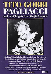 Pagliacci Plus Highlights Fr Gobbi / Lollobridga / Masini [DVD]