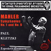 Legendary Treasures - Mahler: Symphony no 1 and 9 / Kletzki