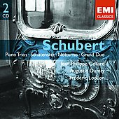 Schubert: Piano Trios no 1 & 2, etc / Collard, Dumay, Lodéon