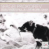 Prokofiev: Violin Concertos, Sonata, 5 Melodies / Aharonian