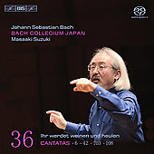 Bach: Cantatas Vol 36 / Suzuki, Nonoshita, Blaze, et al