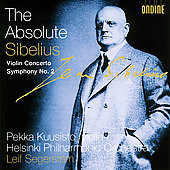 The Absolute Sibelius - Violin Concerto, etc / Segerstam