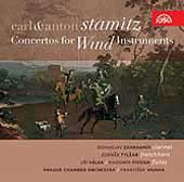 Carl & Anton Stamitz: Concertos for Wind Instruments / Vajnar, et al