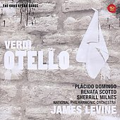 Verdi: Otello / Placido Domingo, Renata Scotto, Sherrill Milnes. Levine, Nat'l PO