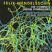 Mendelssohn: Complete String Symphonies (Box)