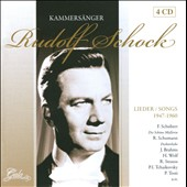 Kammersanger: Songs of Rudolf Schock