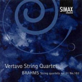 Brahms: String Quartets Op. 51 No. 1 & 2