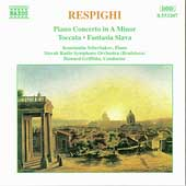Respighi: Piano Concerto, Toccata / Scherbakov, Griffiths