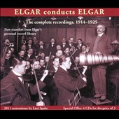 Elgar Conducts Elgar-The complete recordings 1914-1925