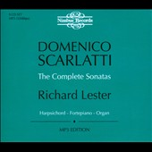 Domenico Scarlatti: The Complete Sonatas / Richard Lester, harpsichord, fortepiano, organ. [MP3 Edition] [Box Set]