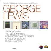 George Lewis (Clarinet): The Complete Remastered Recordings on Black Saint & Soul Note [Box]