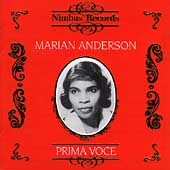 Prima Voce - Marian Anderson