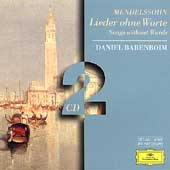Mendelssohn: Songs without Words / Daniel Barenboim