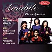 Brahms, Bridge, Turina / Amabile Piano Quartet