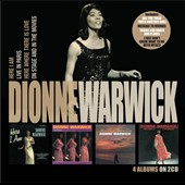 Dionne Warwick: Here I Am/Live In Paris/Here Where There Is Love/On Stage and In Movies