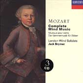 Mozart: Complete Wind Music / Brymer, London Wind Soloists