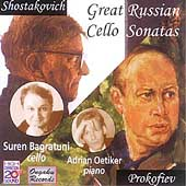Great Russian Cello Sonatas /Suren Bagratuni, Adrian Oetiker