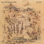 Stockhausen: Mantra / Y Mikashoff, R Bevan, Ole Orsted