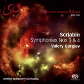 Scriabin: Symphonies Nos 3 & 4 / Valery Gergiev, London SO